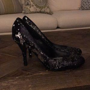 Sequin high heels size 9